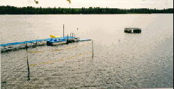 Swimming Area, Raft and Paddleboat
